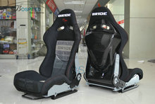 Carbon fiber Racing seat universal Bride adjustable sport car seat