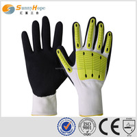 sunnyhope working gloves mechanical gloves nitrile sandy finished Cut & Needle Resistant Glove