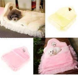Lovable Detachable Lace Pet Bed Dog Bed Wholesale Pet Products Dog Products