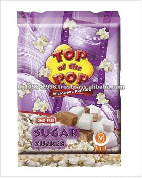 Popular Snack Top of the Pop Sugar Microwave Popcorn