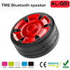 Waterproof Bluetooth Speaker Wireless Portable Tire Shape Outdoor Speaker for Mobiles, PC and Tablets