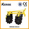 Heavy duty offset disc harrow for tractor equipment