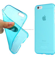 High quality soft TPU mobile case for iphone 6