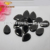 Alibaba beads pear shape black cubic zirconia for clothes making