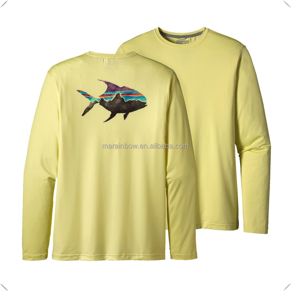 Graphic Tech technical performance Fish Tee with OEM design and best customer service