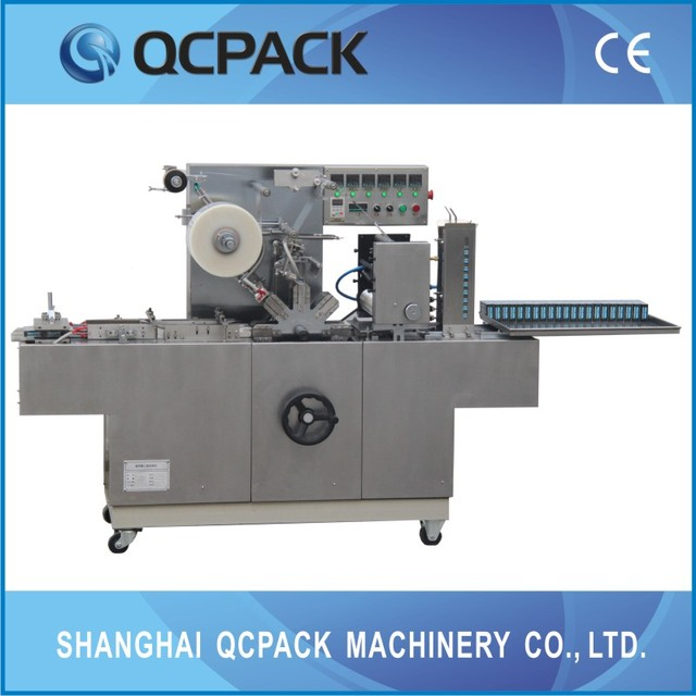 Automatic Cellophane Wrapper Machine For Playing Cards