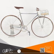 ODM bicycle Fixed Gear Vintage Classic Bike with Front Storage Basket