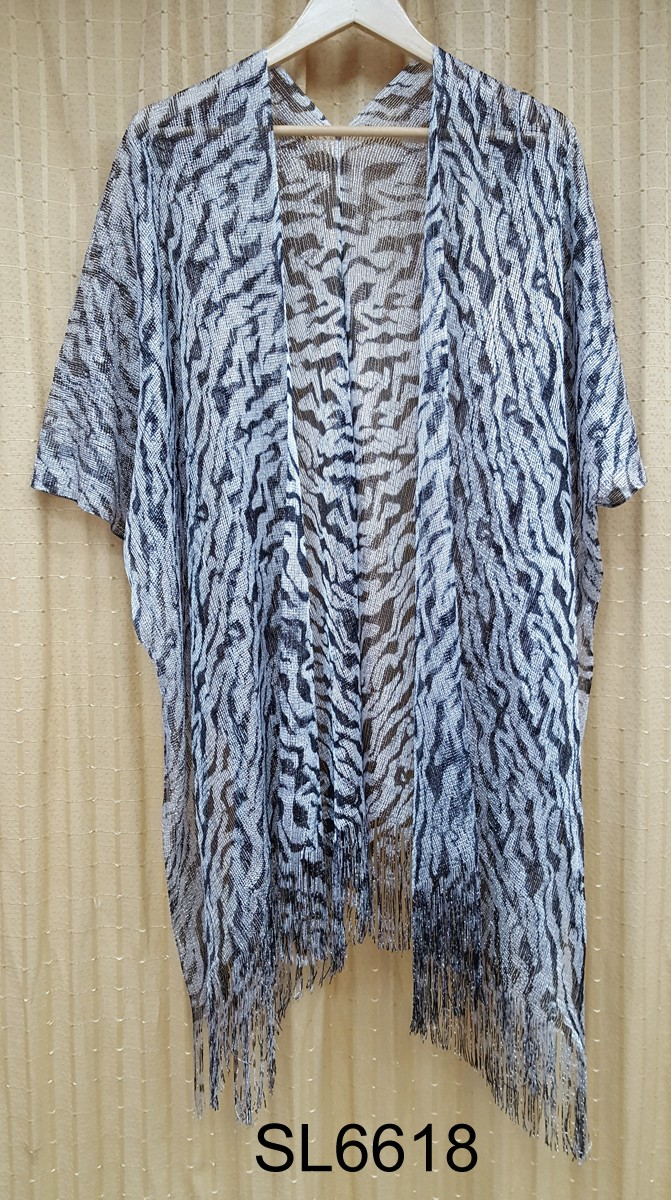 Newest fashion leapord confetti mesh style wrap pashmina