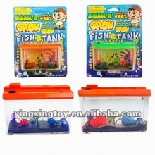 New peculiar growing toy fish tank