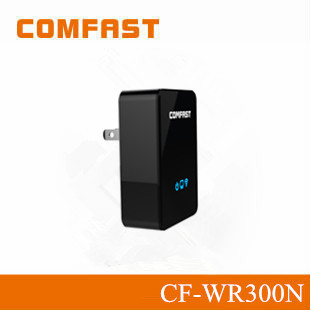 COMFAST CF-WR351N 300Mbps Dual-polarized Antenna Factory Wholesale with Universal Charge Wireless Repeater