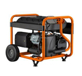 VIGOROUS China Factory Mini Portable Gas and Gasoline generator 3000 watt with ATS
