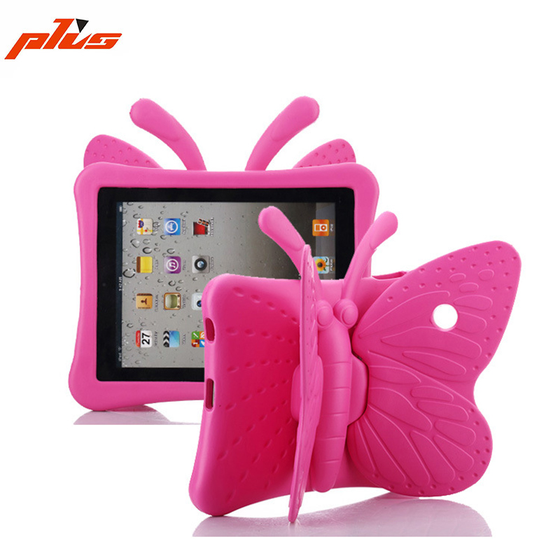 Shockproof Handle Soft Foam Stand Cover Case Kids Custom EVA Pad Case for Pad Air 1 Air 2 ipad mini