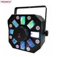 Disco LED Light 3-fx-in-1 stage effects lighting