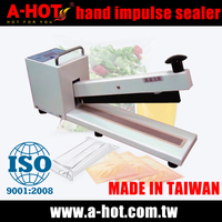 Known nylon plastic bag food packing impulse sealer sealing machine