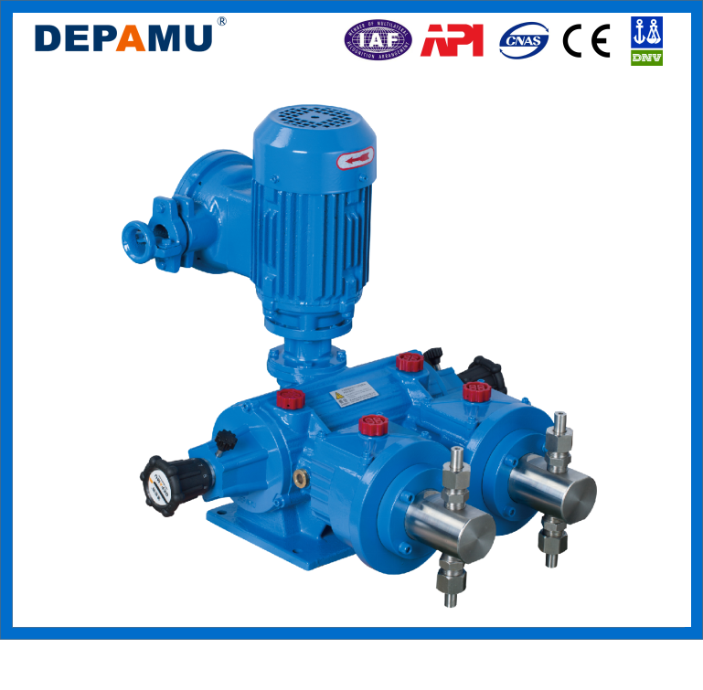 Hign Pressure Plunger Ram Pump With 3 Phrase Motor
