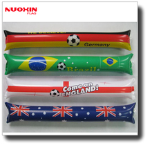 custom made world cup games inflatable noisemaker sticks