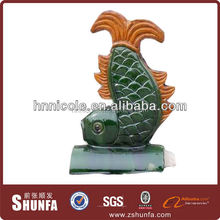 old style heat insulation roofing shingles antique ceramic chinese figurines