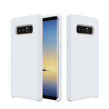 Thin Slim Flexible Soft Feeling Jelly Matte Finish Liquid Gel Silicone Case Bumper Cover for Samsung Galaxy NOTE 8