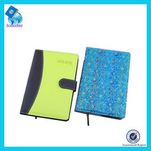 Hot Sale Promotional Leather Korean Notebook