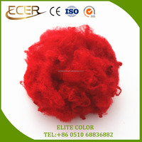 100 Polyester Material Fibra Red Color