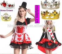 Walson xxxxl fancy dress Plus size Ladies mario and luigi mad hatter 3xl size queen costumes Lingerie