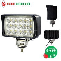 China wholesale 12v 6'' 45w off road led work light with EMC function