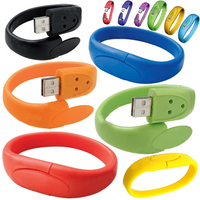 4gb 8gb 16gb Bracelet Wristband USB Flash Memory Drive With Full Capacity