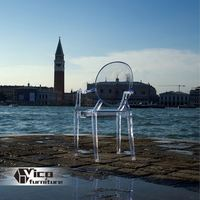 manufacturer best price designed by famous desginer popular colored acrylic chairs