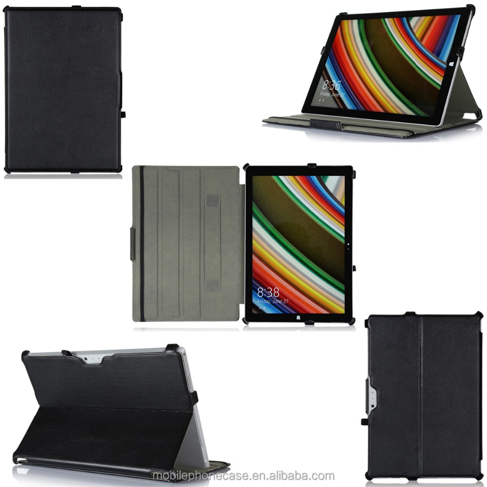 China wholesale Innovative Consumer Products PU leather Tablet Case for Surface Pro 3