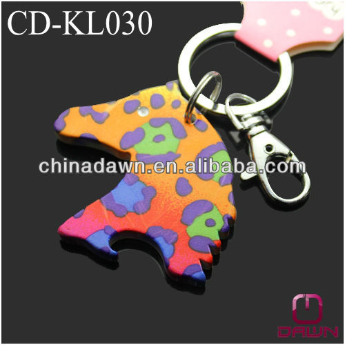 Metal Horse Head Keychain CD-KL030