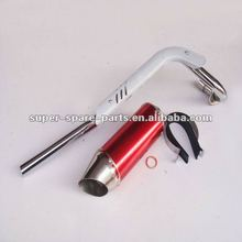 China pit bike exhaust pipe motorcycle muffler for dirt bike