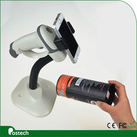 2017 Free shipping wired USB 2D Handheld Barcode Scanner for QR Code, Data Matrix and PDF417 Code -HS02