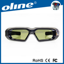 Professional manufacture OLINE NX30-II glasses with high contrast active imax 3d glasses