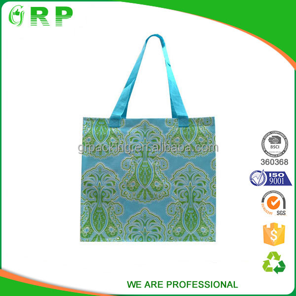 Wholesale biodegradable material customized four wheel shopping trolley bag