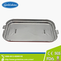 red aluminum foil container/aluminum foil food container lids