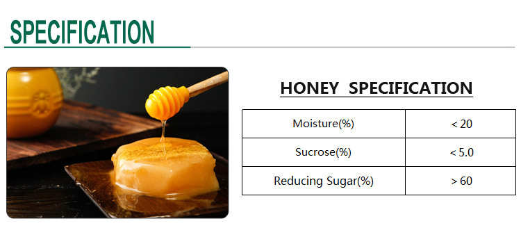 2017 New Nature Organic Honey China Supplier