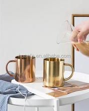 2017 New product Double Walled Copper Plated Moscow Mule Mug