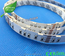 NEW product side emitting rgb color 14.4w smd 020 60pcs 12v ip20 flexible led strip
