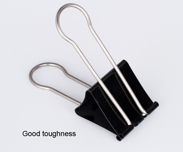 60mm foldback metal black binder clip
