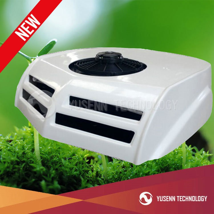12V/24v roof top mounted auto air conditioner for truck, van, trailer