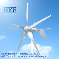 wind turbine generator pitch control 1500W power system
