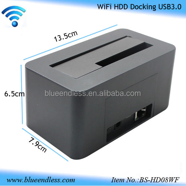 "Factory supply 3tb support 2.5""/3.5 SATA/IDE hard disk Wifi hard drive all in 1 sata laptop hdd docking station driver"