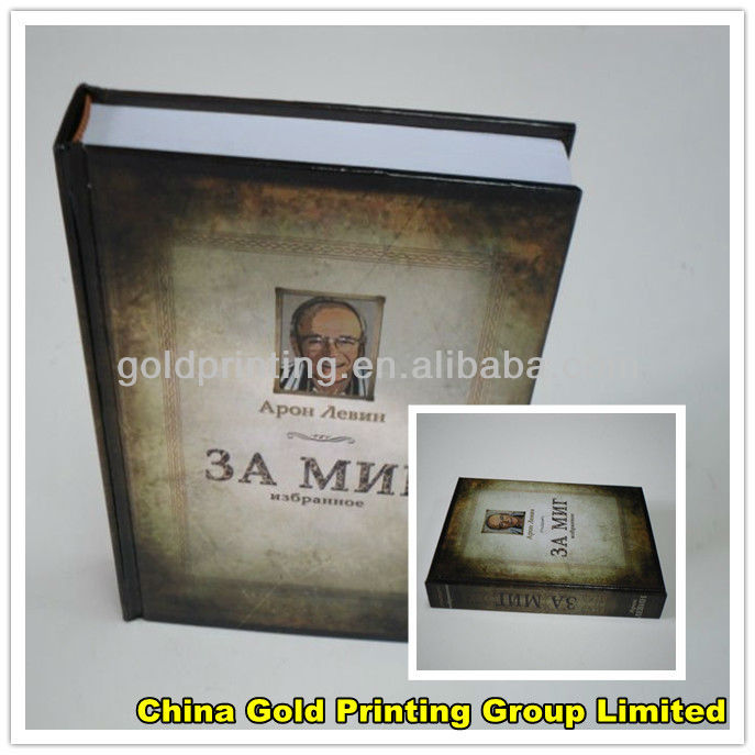 Professional book printing services with SGS certificate