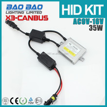 Smart system Quality 35w slim x3 canbus hid conversion kit hid xenon light for hid xenon kit 50000k