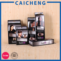 Custom wholesale cheap hair extension packaging