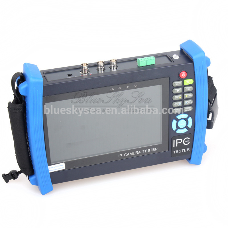 "Best 7"" TFT-lcd touch screen ip and anolog camera <strong>tester</strong> ipc-8600 ip <strong>tester</strong>"