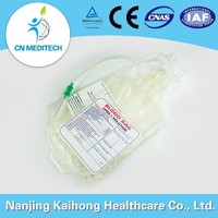 PVC 450ml single cpda-1 blood bag