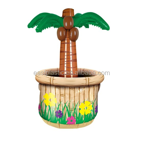 Outdoor Inflatable Palm Tree Bucket Cooler