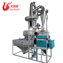 China Factory Price Whole Grain Animal Feed Food Corn Wheat Flour Three Roll Grinding Milling Machinery