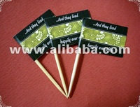 Wedding Theme Party Toothpick Flag Food Pick Design 2
